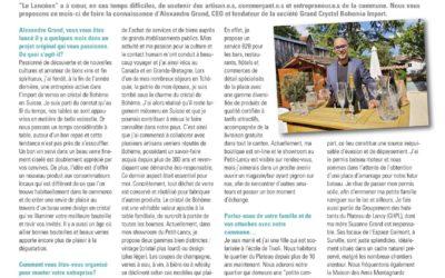 Article Journal Le Lancéen